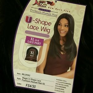 Blended Lace Wig